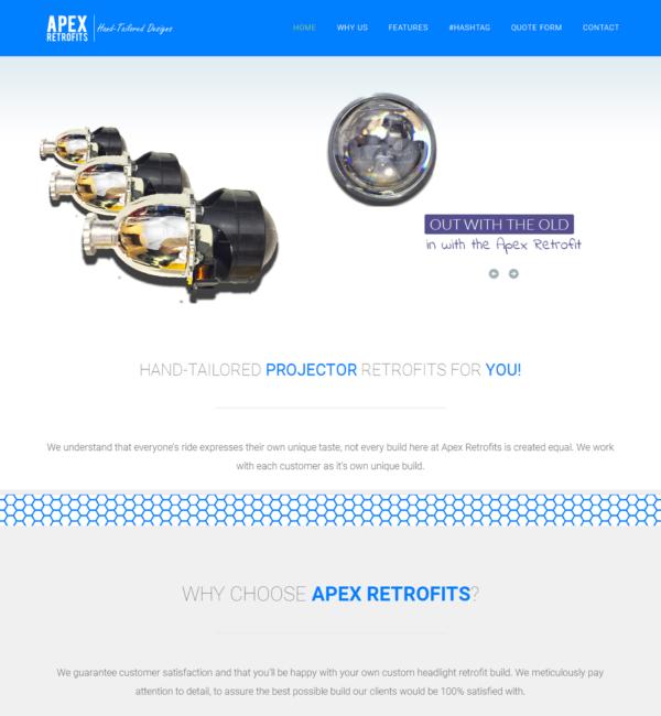 apex retfofits projectors